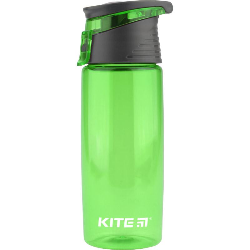 Пляшечка для води Kite K19-401-06, 550 мл, зелена