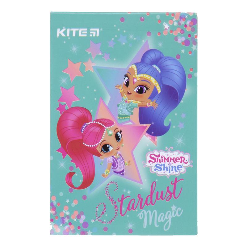 Блокнот Kite Shimmer&Shine SH20-224, 70х105 мм, 48 листов, клетка