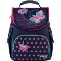Рюкзак школьный каркасный Kite Education Butterflies K21-501S-3
