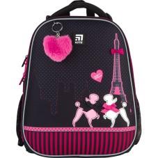 Рюкзак школьный каркасный Kite Education Weekend in Paris K21-531M-3