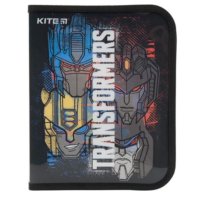 Папка об'ємна на блискавці Kite Transformers TF20-203, В5