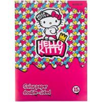 Бумага цветная двусторонняя Kite Hello Kitty HK21-250