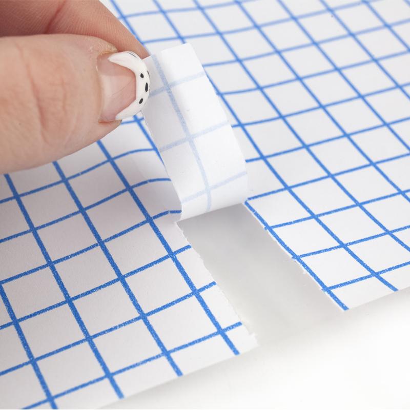 Пленка самоклеющаяся для книг Kite K20-306, 50x36 см, 10 штук, прозрачная