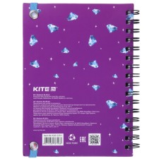 Блокнот на спирали Kite Lovely Sophie K20-229-1, А6, 80 листов, клетка