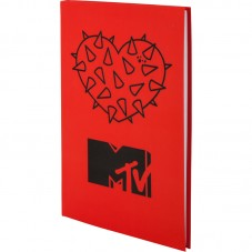 Книга записная Kite MTV MTV20-260-2, интегральная обложка В6, 80 листов, клетка