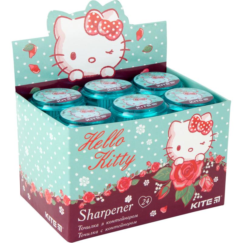 Точилка з контейнером Kite Hello Kitty HK20-117