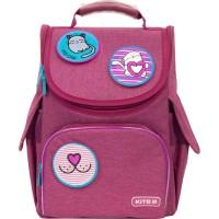 Рюкзак школьный каркасный Kite Education Meow K21-501S-6 LED