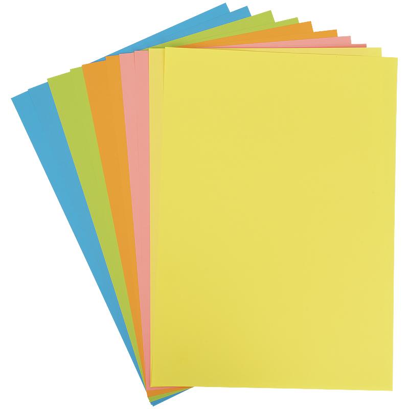 Бумага цветная неоновая Kite Hot Wheels HW21-252