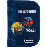 Пенал без наполнения Kite Education Transformers TF20-621, 1 отделение, 1 отворот