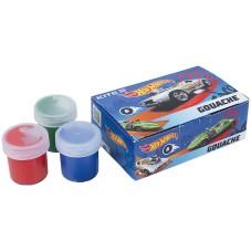 Гуашь Kite Hot Wheels HW21-062, 6 цветов
