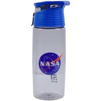 Бутылочка для воды Kite NASA NS21-401, 550 мл, серая