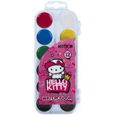 Краски акварельные Kite Hello Kitty HK21-061, 12 цветов