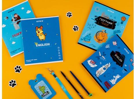 Вчитися цікавіше з предметними зошитами Kite