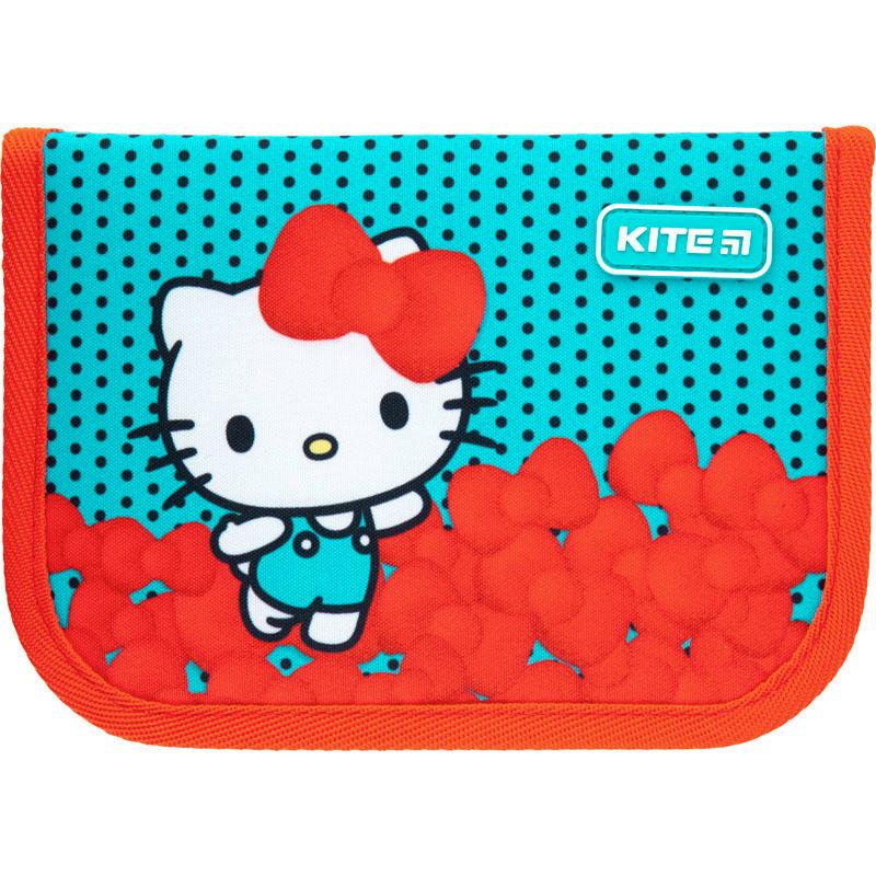 Пенал з наповненням Kite Education Hello Kitty HK21-622H, 1 відділення, 2 відвороти
