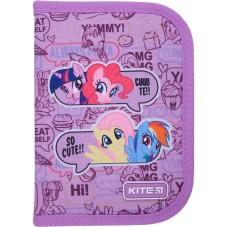 Пенал с наполнением Kite Education My Little Pony LP21-622H, 1 отделение, 2 отворота