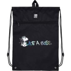 Сумка для обуви с карманом Kite Education Snoopy SN21-601M-2
