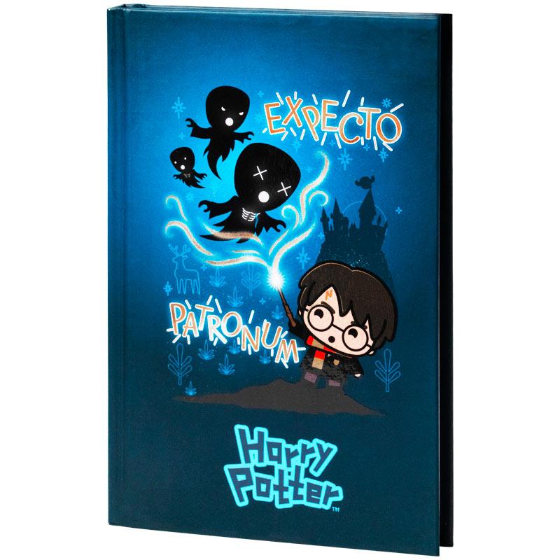 Книга записная Kite Harry Potter HP21-199-1, твердая обложка, А6, 80 листов, клетка