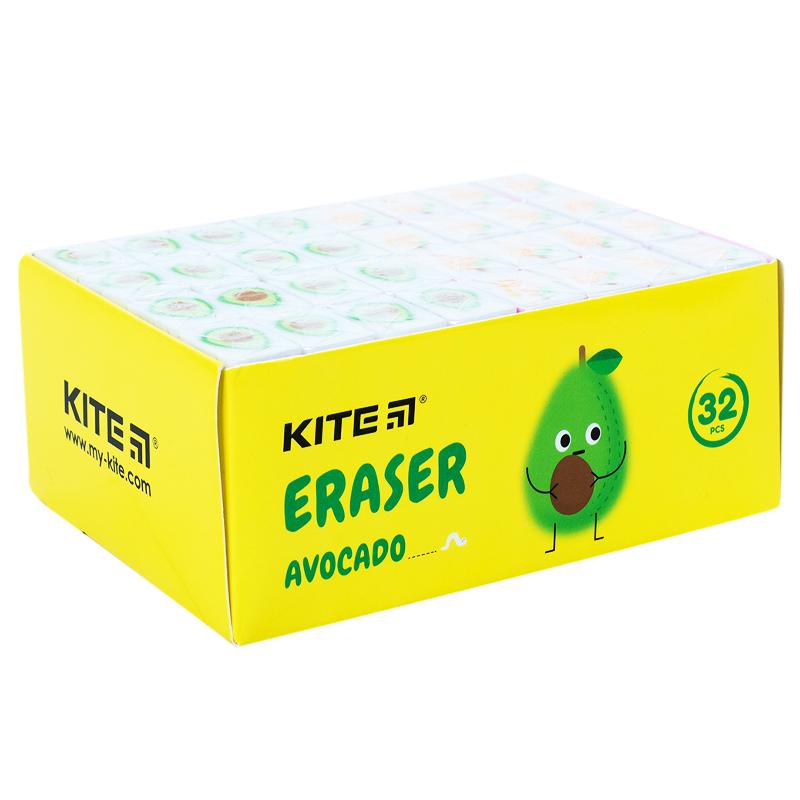 Ластик цветной Kite Fruits K21-375, ассорти