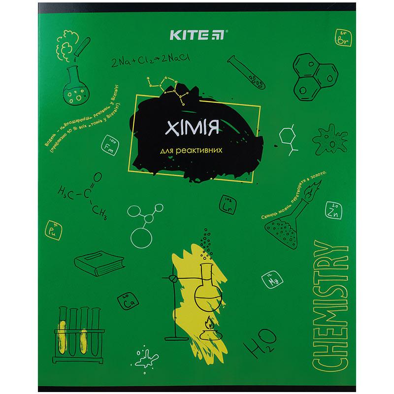 Зошит предметний Kite Classic K21-240-06, 48 аркушів, клітинка, хімія