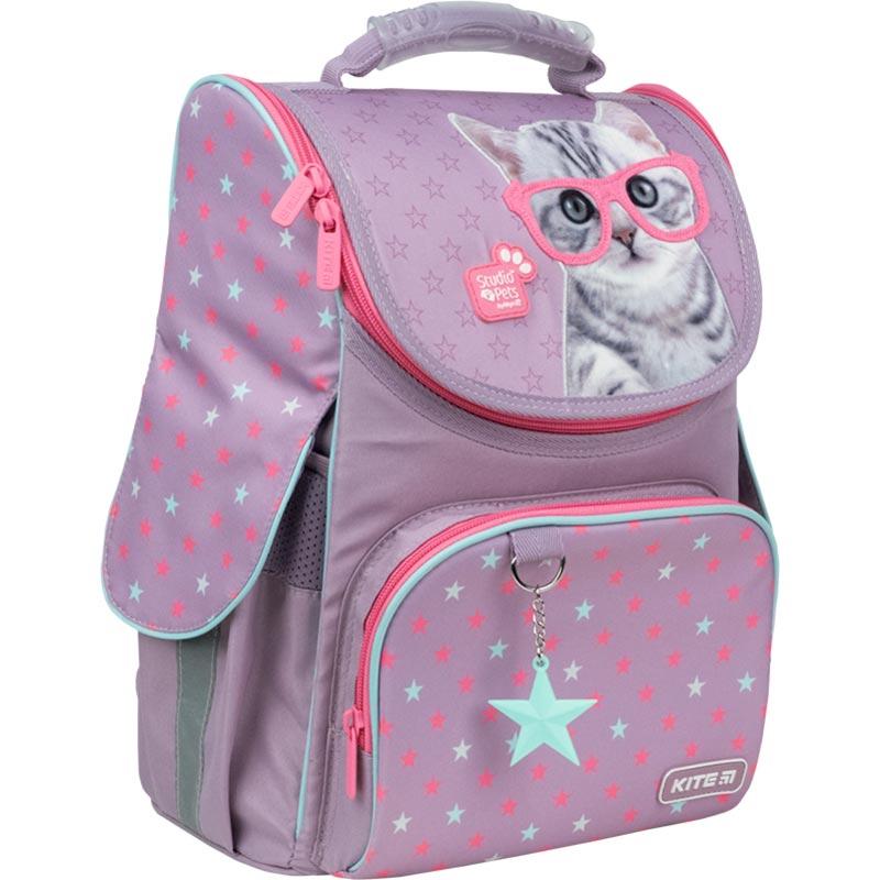 Рюкзак школьный каркасный Kite Education Studio Pets SP21-501S