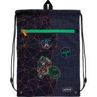 Сумка для обуви с карманом Kite Education Motocross K21-601M-2