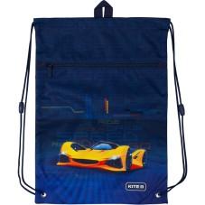 Сумка для обуви с карманом Kite Education Fast cars K20-601M-18
