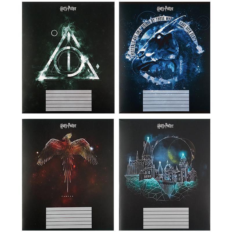 Зошит шкільний Kite Harry Potter HP21-259, 48 аркушів, клітинка