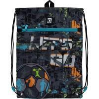 Сумка для обуви с карманом Kite Education Let's go K21-601M-10