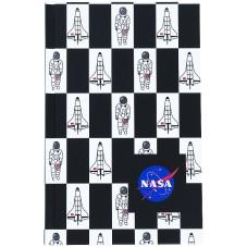 Книга записная Kite NASA NS21-199-1, твердая обложка, А6, 80 листов, клетка