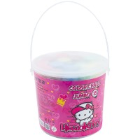 Крейда кольорова Kite Jumbo Hello Kitty HK21-074, 15 шт. у відерці