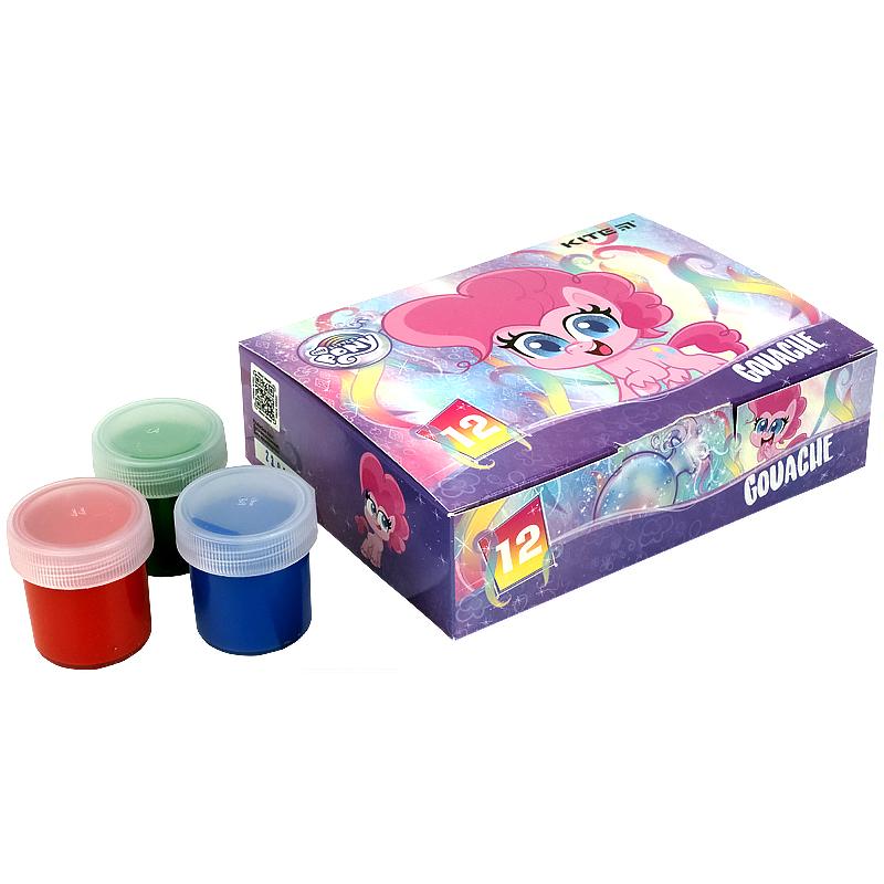 Гуаш Kite My Little Pony LP21-063, 12 кольорів