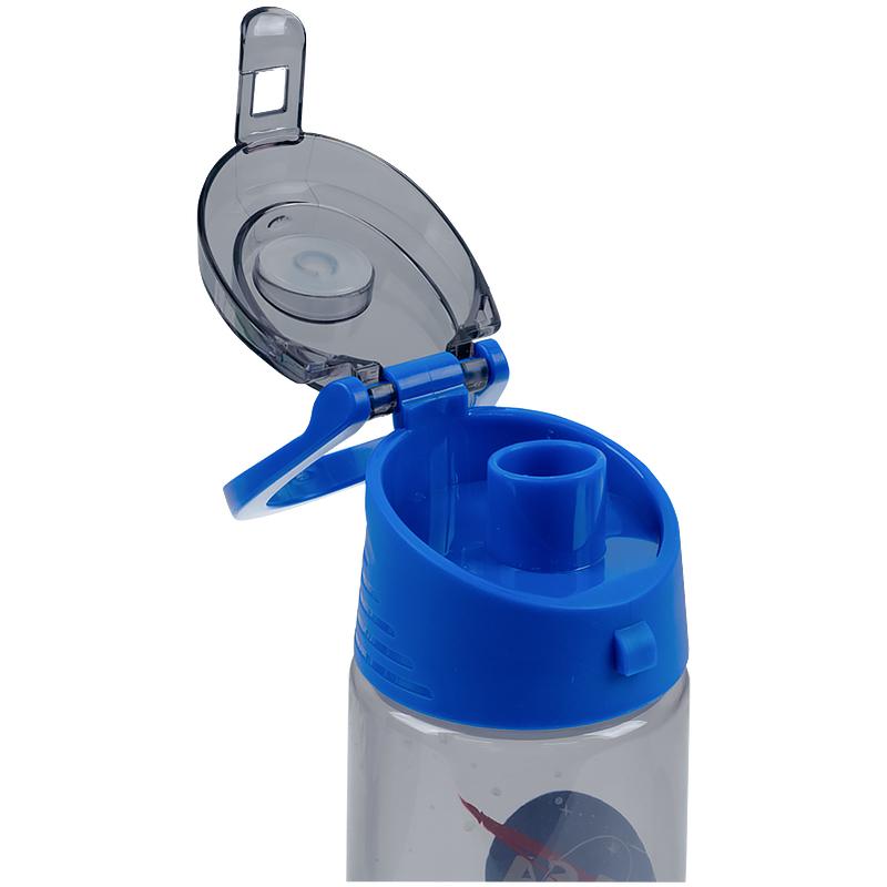 Пляшечка для води Kite NASA NS21-401, 550 мл, сіра