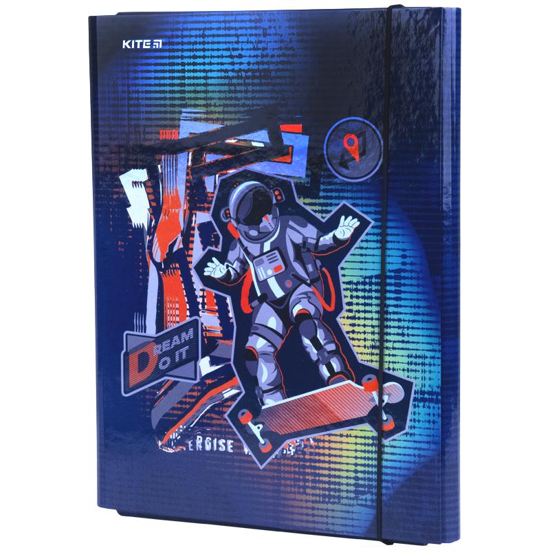Папка для трудового навчання Kite Space Skating K21-213-2, А4