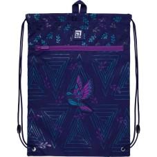 Сумка для обуви с карманом Kite Education Beautiful bird K21-601M-5
