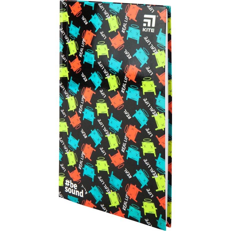 Книга записная Kite BeSound К20-260-3, интегральная обложка В6, 80 листов, клетка