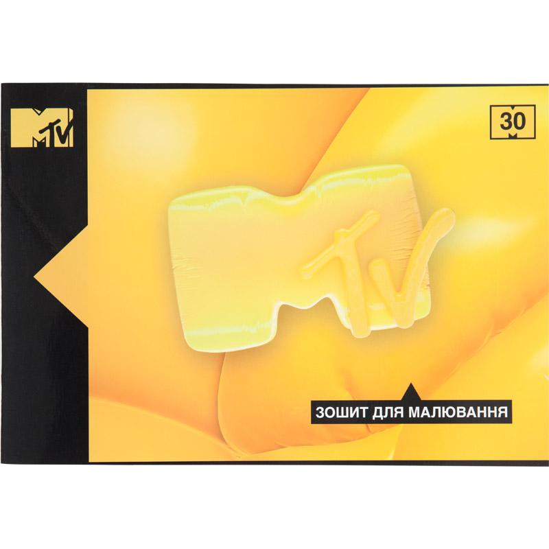 Тетрадь-планшет для рисования Kite MTV MTV20-246, 30 листов