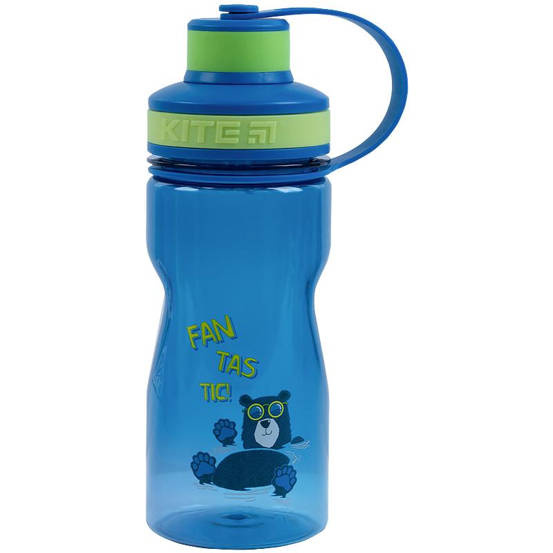 Пляшечка для води Kite Fantastic K21-397-2, 500 мл, синя