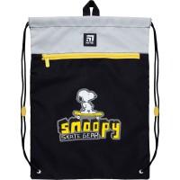 Сумка для обуви с карманом Kite Education Snoopy SN21-601M-1