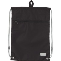 Сумка для обуви с карманом Kite Education Smart K19-601M-34, черная