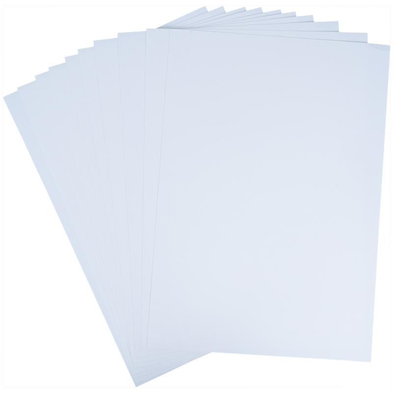 Картон белый Kite Hot Wheels HW21-254, А4, 10 листов, папка