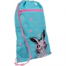 Сумка для обуви с карманом Kite Education Cute Bunny K21-601M-1