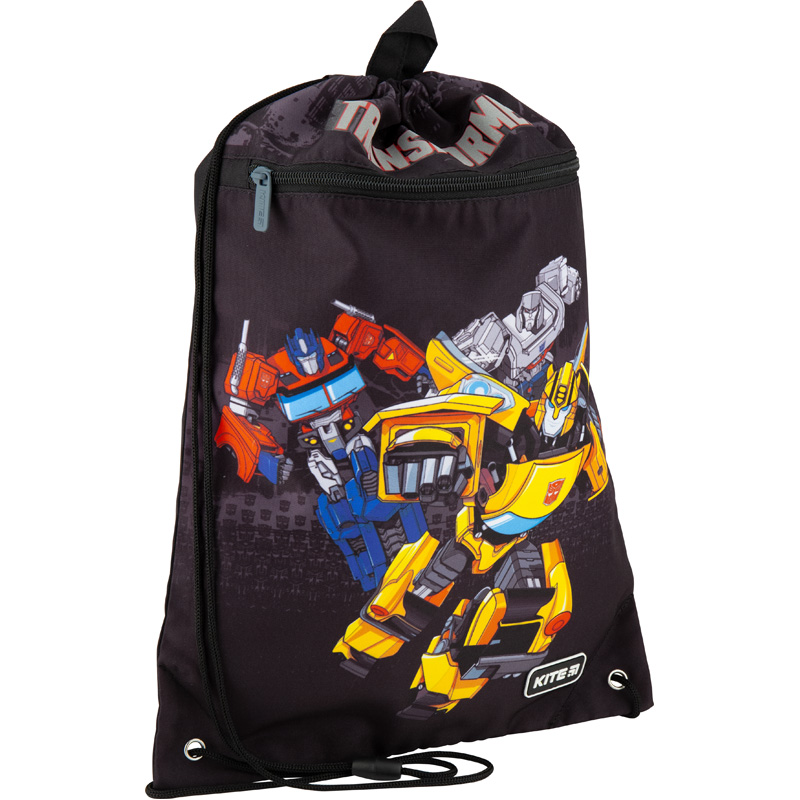 Сумка для обуви с карманом Kite Education Transformers TF20-601M-2
