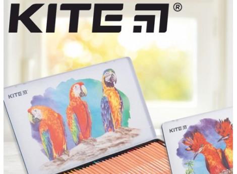 Акварельні олівці Kite серії «Птахи»: створюємо шедеври разом
