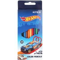 Карандаши цветные Kite Hot Wheels HW21-051, 12 шт.