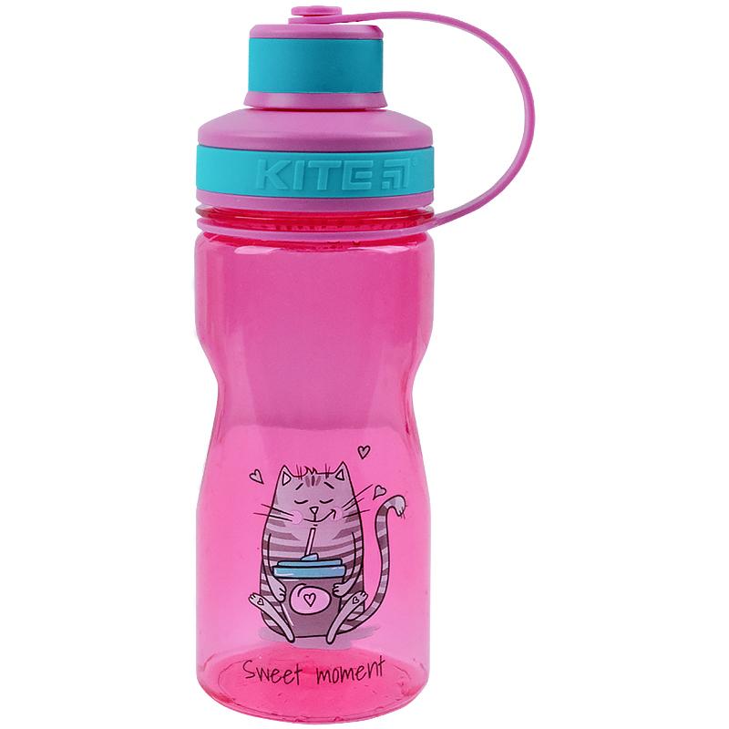 Пляшечка для води Kite Sweet moment K21-397-1, 500 мл, рожева