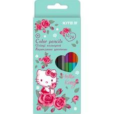 Карандаши цветные двусторонние Kite Hello Kitty HK20-054, 12 шт.