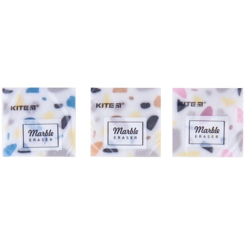 """Гумка кольорова Kite """"Marble"""" K20-021, асорті"""