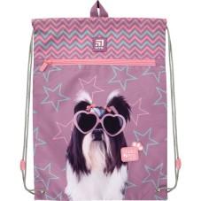 Сумка для обуви с карманом Kite Education Studio Pets SP21-601M-3