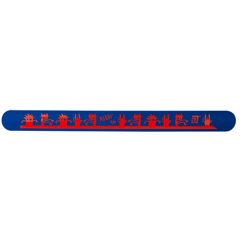 Линейка-браслет Kite K20-019-1, 30 см, синяя