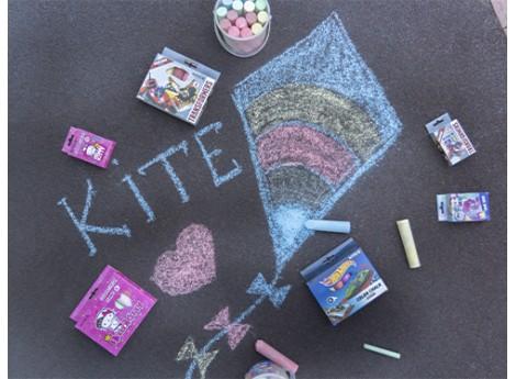 Сделаем мир ярче вместе с мелками Kite!